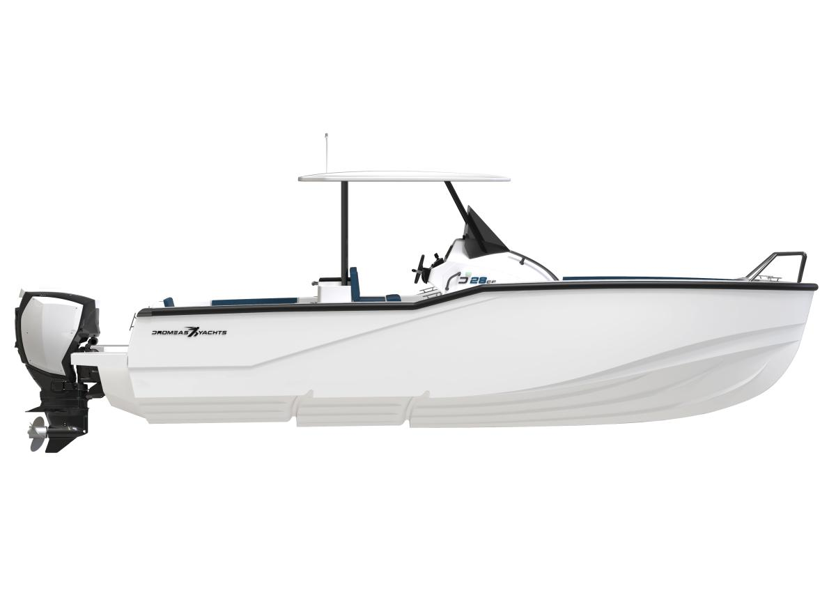 A side view render of our D28 CC model