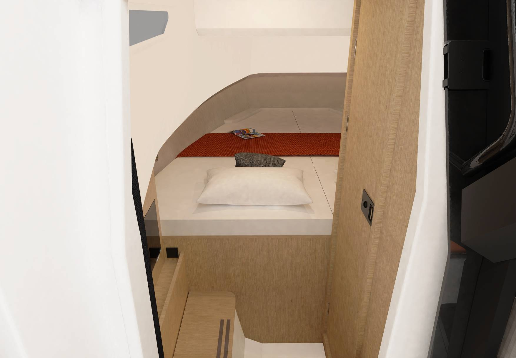 A Render Of Our D28 SUV Interior Toilet Area