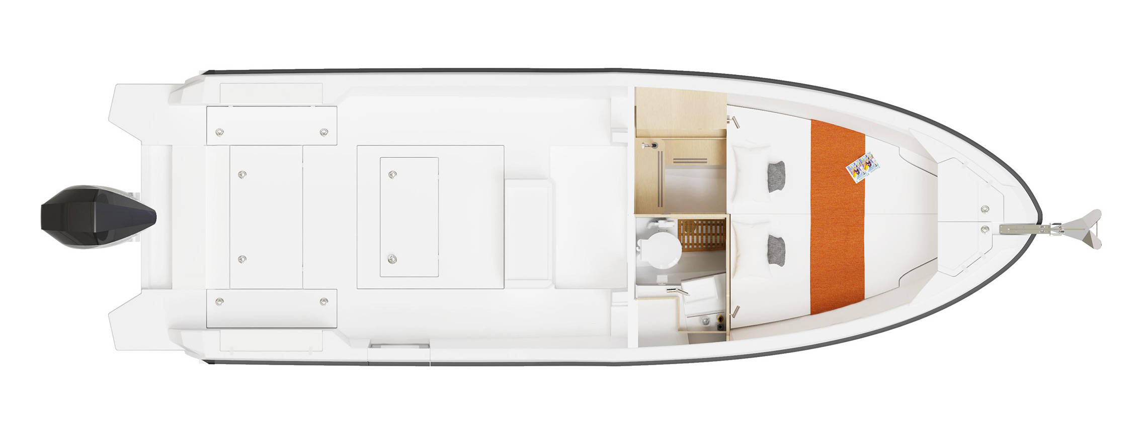The D28 WA's Interior Floorplan