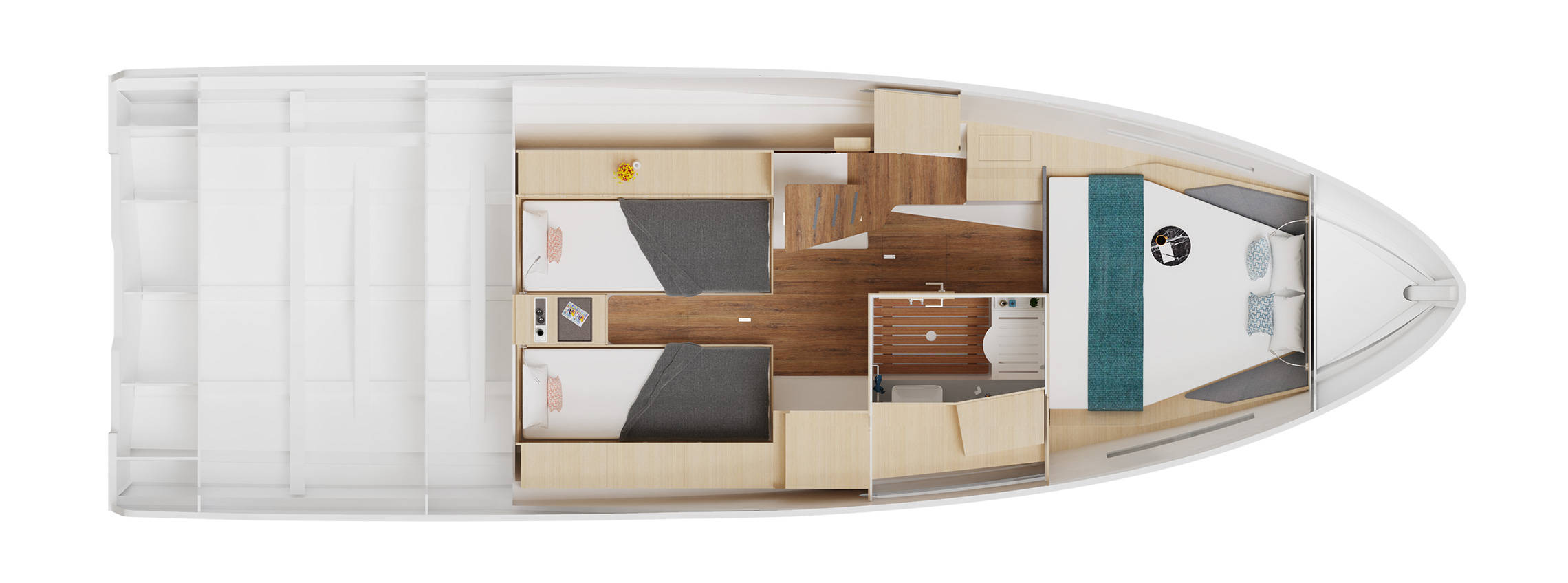The D38 CC's Interior Floorplan
