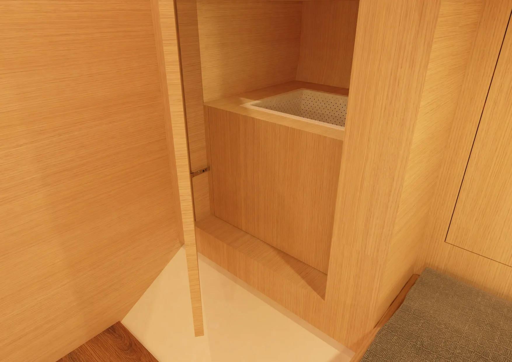 The D38 CC Features An Abundance Of Storage